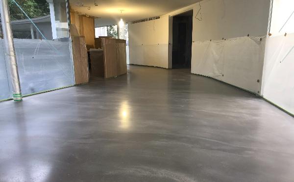 卡多泥創藝地坪02005灰施做過程(房屋銷售中心)
