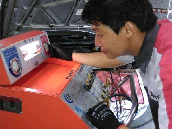 汽車冷氣專業檢修機