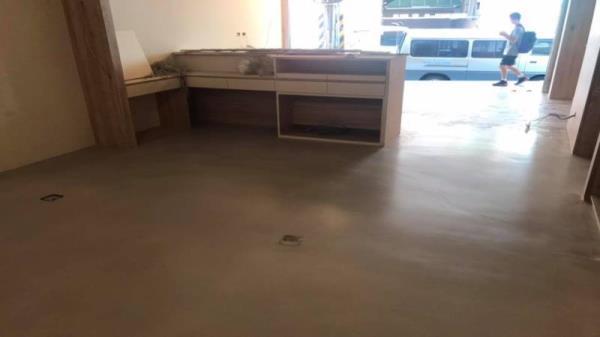 地坪03001灰,施工前後對照圖(寵物店商業空間)