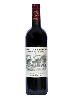 2007 法國紅酒 Graves區的列級酒莊Pessac-Leognan Rouge Château Carbonnieux (樺榭葡萄酒指南   Le guide Hachette des vins  1顆星)