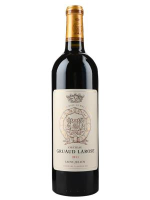 2011 法國紅酒 Saint-Julien產區二級酒莊 Chateau Gruaud Larose (樺榭葡萄酒指南  Le Guide Hachette des Vins  一顆星)