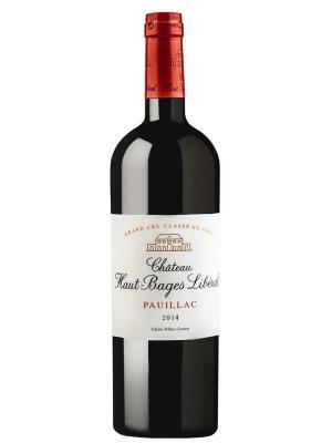 2014 法國紅酒 Pauillac產區五級酒莊 Chateau Haut-Bages Liberal (葡萄酒愛好者雜誌  Wine Enthusiast   94分)