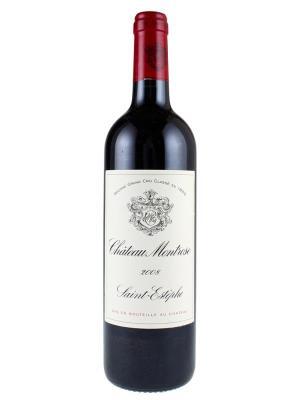 2008 法國紅酒 Saint-Estephe產區的二級酒莊 CHATEAU MONTROSE (樺榭葡萄酒指南  Le Guide Hachette des Vins  二顆星)