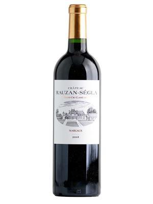 2012 法國紅酒 Margaux產區的二級酒莊的第二名 CHATEAU RAUZAN SEGLA (樺榭葡萄酒指南  Le Guide Hachette des Vins  二顆星)