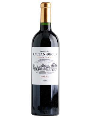 2008 法國紅酒 Margaux產區的二級酒莊的第二名 CHATEAU RAUZAN SEGLA (樺榭葡萄酒指南  Le Guide Hachette des Vins  二顆星)