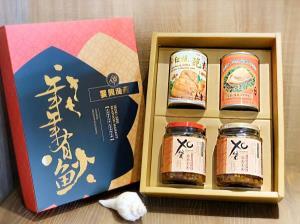 四入裝-XO醬鮑魚罐禮盒