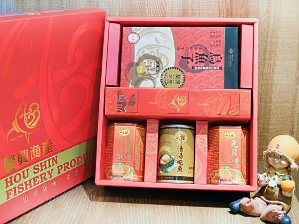 3+1入裝-XO醬烏魚子鮑魚禮盒-4