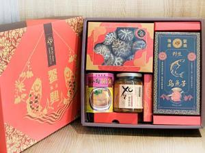 4入裝-花菇排翅XO醬烏魚子大禮盒