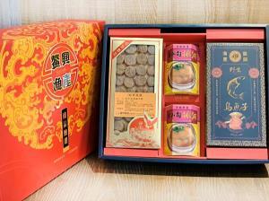 4入裝-北海道干貝排翅烏魚子大禮盒