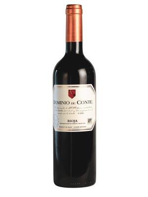 2010 西班牙紅酒 DOMINIO de CONTE Reserva (德國 世界葡萄酒大賽  MUNDUS VINI   金牌 )