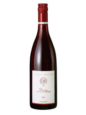 2015 德國紅酒 GB ROUGE – PINOT NOIR (知名葡萄酒評鑑網站  Vinous  88分)