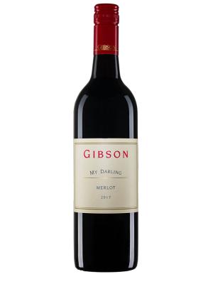 """2017 澳洲紅酒 Gibson My Darling Merlot(知名葡萄酒評鑑網站  """"葡萄酒軌道"""" Wine Orbit - Sam Kim 92分 )"""
