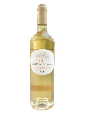 2016 法國貴腐酒   L'ILOT DE HAUT-BERGERON AOC (布萊堡國際葡萄酒挑戰大賽  Challenge International du Vin Blaye-bourg  銀牌)
