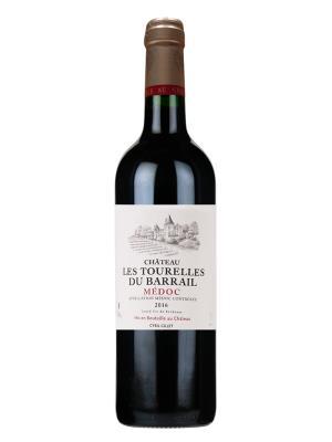 2016 法國紅酒   Château Les Tpurelles du Barrail Medoc (葡萄酒觀察家 Wine Spectator  87分)