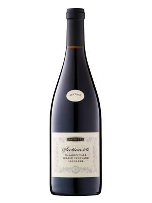 2016 澳洲紅酒 PATRITTI  Section 181 Grenache (國際葡萄酒競賽 International Wine Challenge 銀牌)