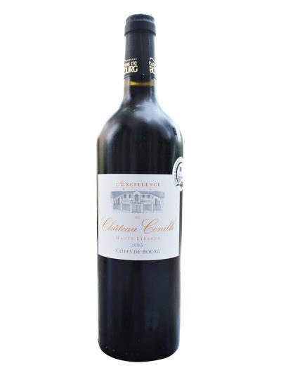 "2015 法國紅酒   L'Excellence"" du Chateau Conilh Haute-Libarde Cotes de Bourg AOC(波爾多葡萄酒競賽  Concours de Bordeaux  銀牌)"