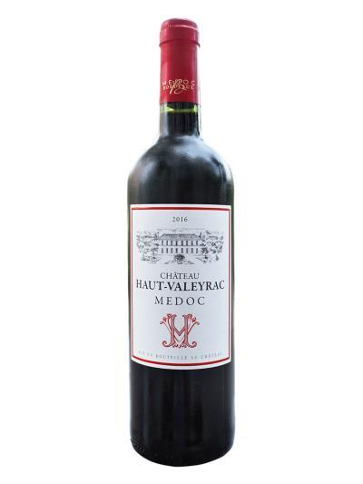 2016 法國紅酒   Château HAUT-VALEYRAC Medoc (品醇客世界葡萄酒大賞 Decanter World Wine Awards  銀牌 / 90分)