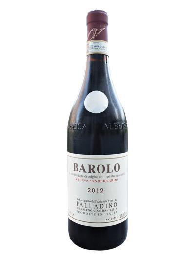 2012 義大利紅酒 BAROLO D.O.C.G. RISERVA SAN BERNARDO (義大利餐飲評鑑指南 Gambero Rosso  2酒杯)