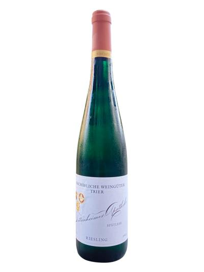 2015 德國白酒 TRITTENHEIMER APOTHEKE RIESLING SPATLESE TROCKEN (德國葡萄酒評鑑網站 Wein-Plus.de  84分)