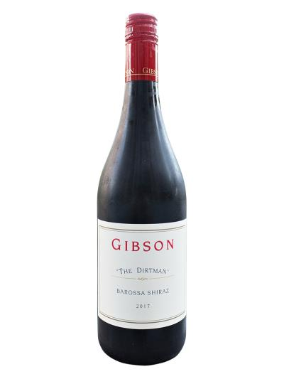 2017 澳洲紅酒 Gibson THE DIRTMAN Shiraz(澳洲知名酒評家 James Halliday   94分)