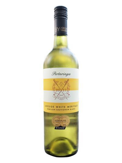2017 澳洲白酒 PERTARINGA LAKESIDE WHITE MERITAGE