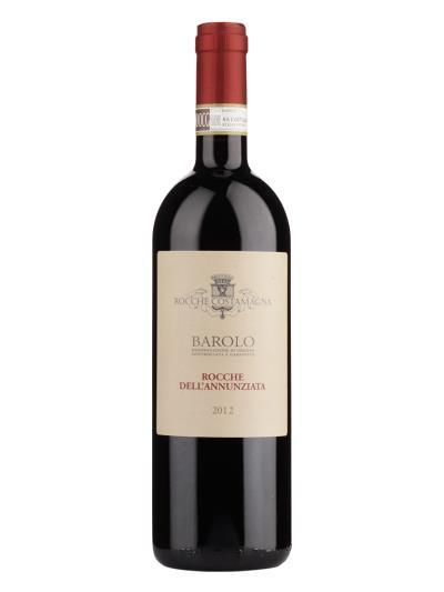 2012 義大利紅酒    Rocche dell'Annunziata Barolo D.O.C.G. ( 知名葡萄酒評鑑家 James Suckling 96分 )