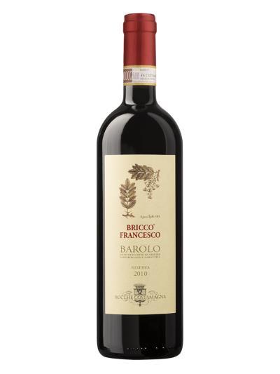 2010 義大利紅酒   Barolo Bricco Francesco Riserva D.O.C.G. ( 葡萄酒觀察家 雜誌 Wine Spectator  90分 )