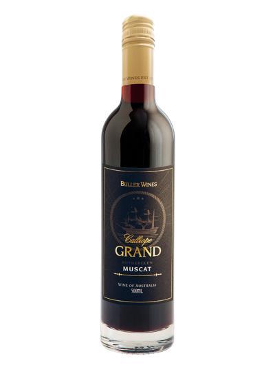 澳洲至尊加烈葡萄酒 Grand Muscat (澳洲葡萄酒指南 Halliday Wine Companion  95分)