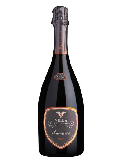 2014 義大利氣泡酒 EMOZIONE BRUT FRANCIACORTA MILLESIMATO( 福斯塔夫雜誌  Falstaff Magazin  90分 )