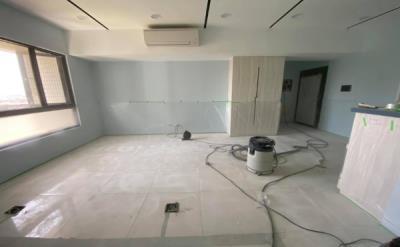 A9清水灰(居家空間)拋光磚面施工前後對照圖
