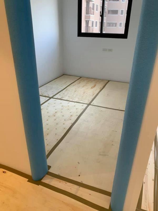 全室地面,門框保護工程