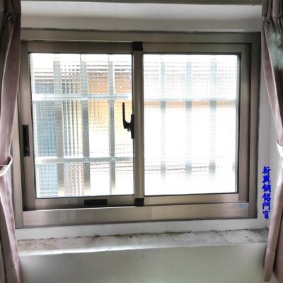 氣密窗+防盜窗