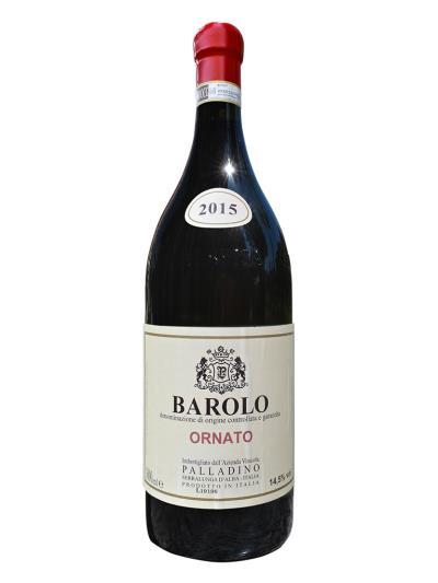 2015 義大利紅酒 BAROLO D.O.C.G. ORNATO 3L (義大利餐飲評鑑指南  Gambero Rosso  2紅酒杯)