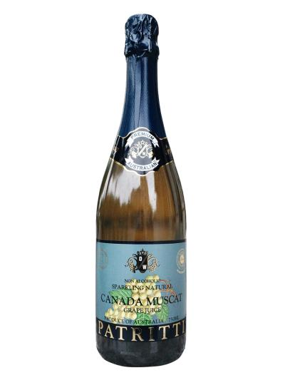 2021 澳洲氣泡加拿大麝香葡萄果汁 PATRITTI Sparkling Canada Muscat Grape Juice
