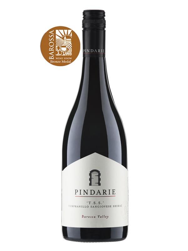2018 澳洲紅酒 T.S.S. TEMPRANILLO SANGIOVESE SHIRAZ (銅獎 2019年巴羅莎葡萄酒展 The Barossa Wine Show)