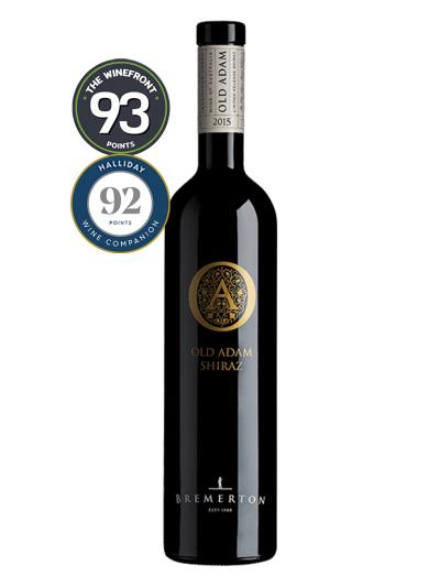 2015 澳洲紅酒 OLD ADAM SHIRAZ (澳洲知名葡萄酒評鑑家  James Halliday  92分)