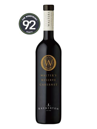 2014 澳洲紅酒 WALTER'S RESERVE CABERNET SAUVIGNON (澳洲知名資深酒評家   Huon Hooke  Top 2014 Cabernet Sauvignon)