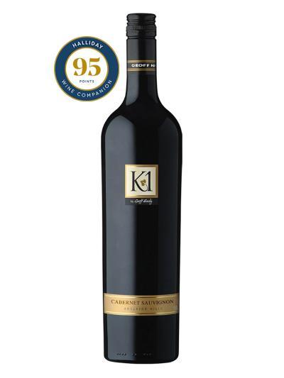 2012 澳洲紅酒 K1 CABERNET SAUVIGNON (澳洲知名葡萄酒評鑑家 James Halliday  95分)