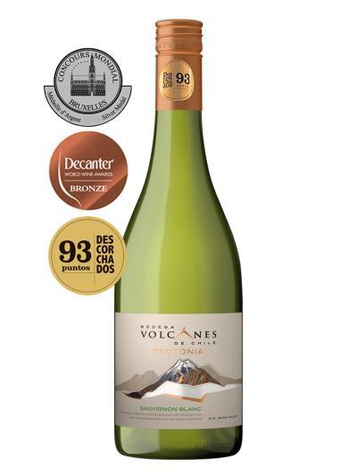 2016 智利白酒 TECTONIA SAUVIGNON BLANC (2017 Decanter World Wine Awards 銅牌)