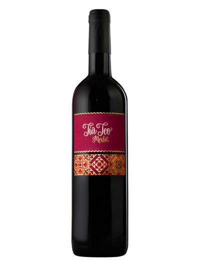 2014   西班牙紅葡萄酒  Tia Teo Merlot