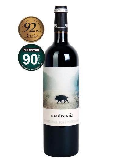 2015 西班牙紅葡萄酒 MADREMIA TINTO CRIANZA( 知名國際葡萄酒評鑑家 Robert Parker   92分 )