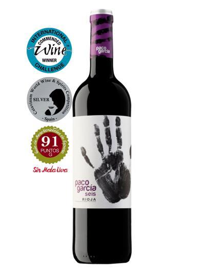 2015 西班牙紅葡萄酒 PACO GARCÍA SEIS( 國際葡萄酒挑戰賽  International Wine Challenge 推薦酒 )