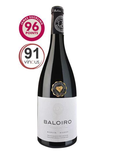 2010 西班牙紅葡萄酒 Baloiro Crianza(知名葡萄酒評鑑媒體 Jamessuckling 96分)