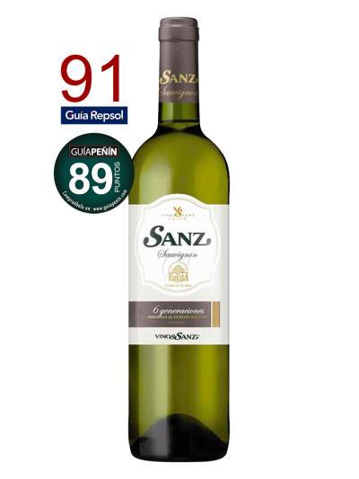 2016 西班牙白葡萄酒 SANZ SAUVIGNON BLANC (西班牙著名餐飲指南 Guia Repsol 91分)