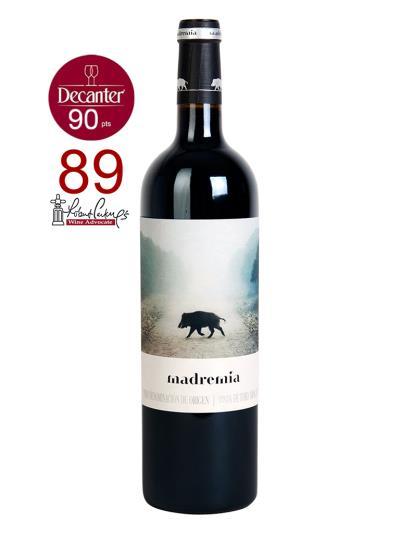 2016 西班牙紅葡萄酒 MADREMIA TINTO CRIANZA (知名國際葡萄酒評鑑家   Robert Parker   92分  )