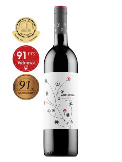 2018 西班牙紅酒 Costalarbol Semicrianza (布魯塞爾國際葡萄酒大賽  Concours Mondial de Bruxelles 金牌)