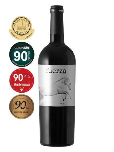 2017 西班牙紅酒   EGO BODEGAS FUERZA ( 布魯塞爾國際葡萄酒大賽 Concours Mondial de Bruxelles  金牌 )