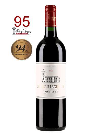 "2009 法國紅酒 Saint-Julien的三級酒莊 CHATEAU LAGRANGE (葡萄酒評鑑雜誌 ""葡萄酒倡導家""  Wine Advocate - Rober Parker   95分)"
