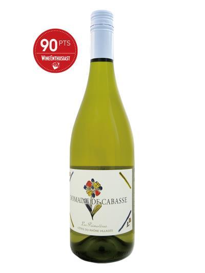 2017 法國白酒 Domaine de Cabasse CUVEE LES PRIMEVERES (葡萄酒愛好者 Wine Enthusiast 90分)