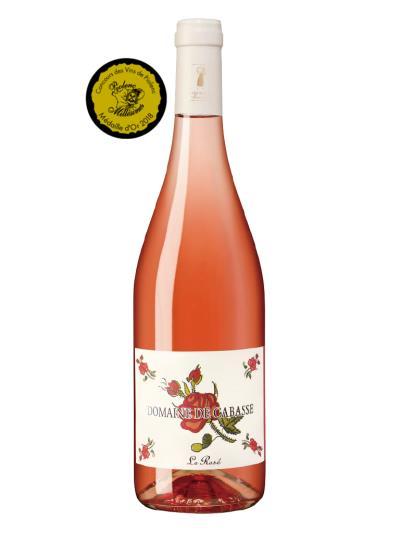 2017 法國粉紅酒 Domaine de Cabasse Le Rose (皮奧朗克葡萄酒大賽 Médaille d'Or concours de Piolenc    金牌)